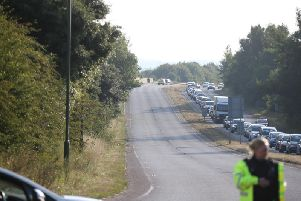 Emergency services respond to the tragic collision
