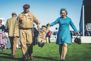 Family fun at Goodwood Revival