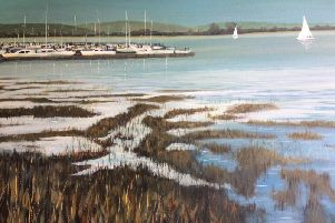 Heading Home - Acrylic by Jan Copsey