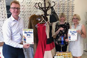 All the Chichester opticians have come on board to support the cause