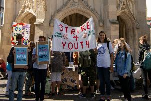 Chichester climate strike (photo by Ronnie Hall)