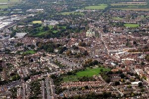 Chichester from the sky