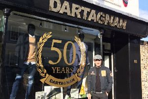 Owner of the Dartagnan Menswear store, Matt Horstead