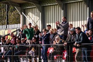 Chi City fans at Bowers and Pitsea / Picture by Daniel Harker