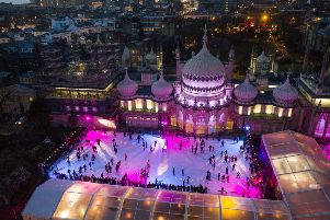 Brighton ice rink. Picture by David Levene