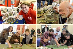 Battleground Bognor: Pictures from wargaming and modelling show