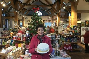 Jennifer Gerrish, of Something to Celebrate, makes220 Christmas cakes each year for the Christmas Fayre and said she was left 'devastated' after it was cancelled