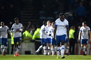 Tranmere celebrate their late winner at Wycombe / Picture: Getty Images