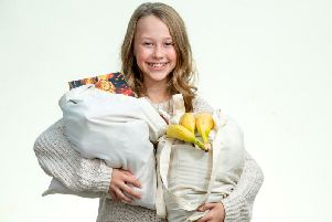 Meet Mia, who is fighting food waste in West Sussex