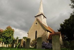 Residents want the peaceful setting of the church to be preserved