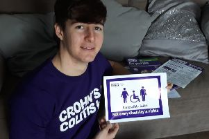 Jack Angell will be raising funds for the charity Crohns and Colitis UK