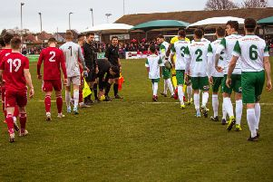 Action from the Rocks v Worthing / Picture: Tommy McMillan