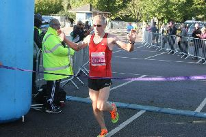 James Baker wins the 2019 Chi Half - the eighth one in a row he had taken / Picture: Derek Martin