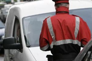 How many parking fines were issued where you live?