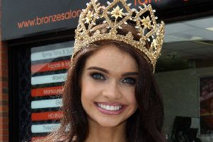 Anna Henry winner of the Insanity Tan Miss Northern Ireland (PressEye)