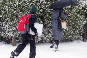 Wintry conditions have affected many parts of Northern Ireland
