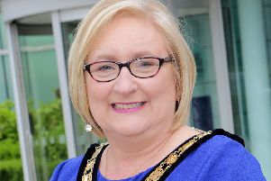 Sinn Fein councillor Brenda Chivers was elected mayor of Causeway Coast and Glens Council on Monday night