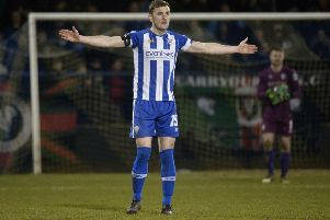 Coleraine centre-back Stephen O'Donnell is looking forward to this week's Europa League clash in Serbia.