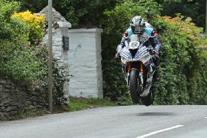 Michael Dunlop won the Superbike TT in 2018 on the Tyco BMW.