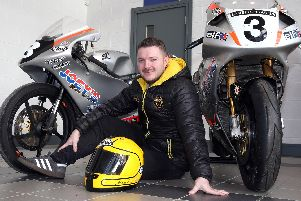 Gary Dunlop unveiled the Joey's Bar Honda which will sport a retro livery in 2019 marking 20 years since Joey's famous 1999 Superbike victory at the Ulster Grand Prix on the RC45 Honda.