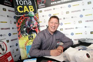Lincolnshire rider Gary Johnson has signed up for the fonaCAB International North West 200 in association with Nicholl Oils.