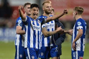 Aaron Traynor has backed Oran Kearney to come back to Coleraine