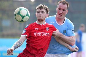 The bid for Jamie McGonigle has met Coleraine's valuation for the player