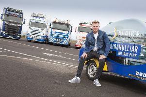 Lee Matthews, headliner at the main stage, looks forward to this year's two day Truck Fest