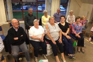 Exercise Specialist, Gemma McLaughlin with members of Breathe Easy Causeway at September Meeting