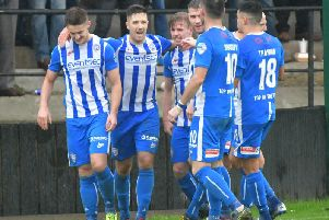 Aaron Jarvis makes it 3-1 to Coleraine