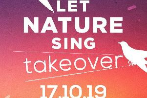 Birdsong helps Let Nature Sing this Thursday