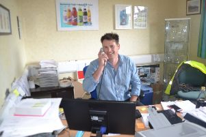 Derrick Harkness, sales director of Maine Soft Drinks in Ballymoney