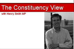The Constituency View with Henry Smith MP SUS-170126-103725001