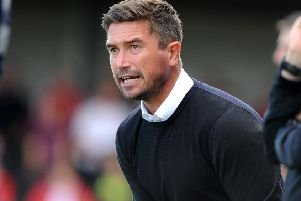 Crawley Town FC v Port Vale FC. Harry Kewell. 05-08-17 Pic Steve Robards  SR1717737 SUS-170508-172247001