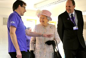 The Queen visited Canine Partners charity in Heyshott. Pictures: Steve Robards