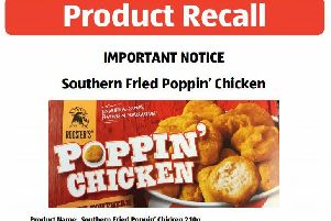 Aldi has recalled Roosters Southern Fried Poppin' Chicken. Picture: Aldi