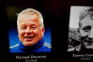 Dermot Drummy featured in SPOTY's In Memoriam section