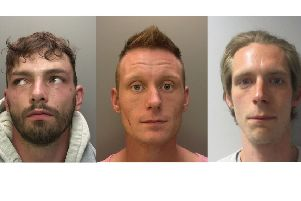 Police are hunting for these three men wanted on recall to custody