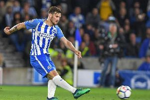 Brighton's German midfielder Pascal Gross. Picture by Phil Westlake (PW Sporting Photography)