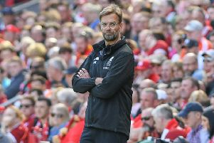 Liverpool boss Jurgen Klopp pictured at thr Liverpool FC Vs Brighton & Hove Albion match in May. Picture by Phil Westlake