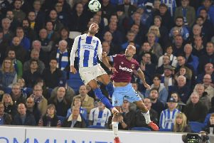 Pictures taken during the Premier League Game Brighton & Hove Albion Vs West Ham Friday 05th October 2018 SUS-180610-005053008