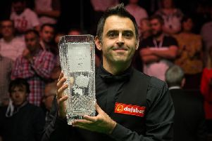Ronnie O'Sullivan won the English Open in 2017