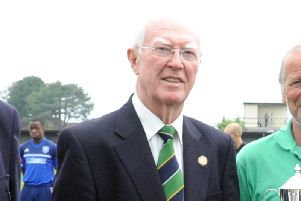 Long-serving Bostik League member Alan Turvey has died. Picture by Kate Shemilt
