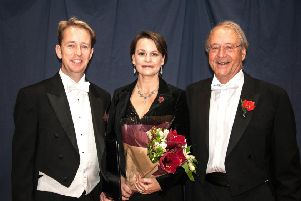 From left: Eamonn Dougan, Charlotte Mobbs and Robert Hammersley. Picture by Melvyn Walmsley