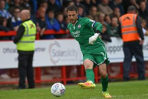 Crawley Town goalkeeper Glenn Morris. Picture by Steve Robards.