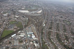 The Croydon bottleneck (Photograph: Network Rail)