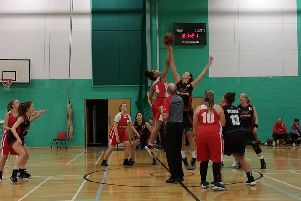 Action from Crawley Lightning's 56-33 away win over the Sussex Bears on Monday. Picture by Alissa Walker.