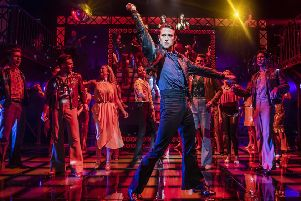 Richard Winsor in Saturday Night Fever. Picture by Pamela Raith Photography