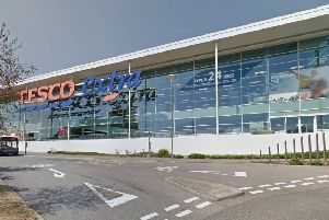 Tesco Extra, in St Leonards. Picture: Google Maps