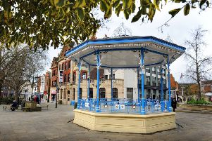 There are walks from the Horsham Bandstand every Wednesday